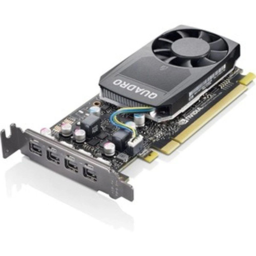 Lenovo 4X60R60469 ThinkStation NVIDIA Quadro P620 2GB GDDR5 Mini DPx4 LP Graphics Card (Renewed) - NO Tax