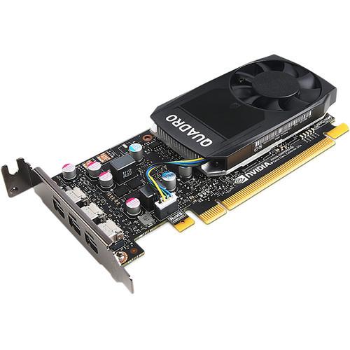 Lenovo 4X60N86656 ThinkStation Quadro P400 2GB GDDR5 Mini DP 3 Graphics Card (Renewed) - NO Tax