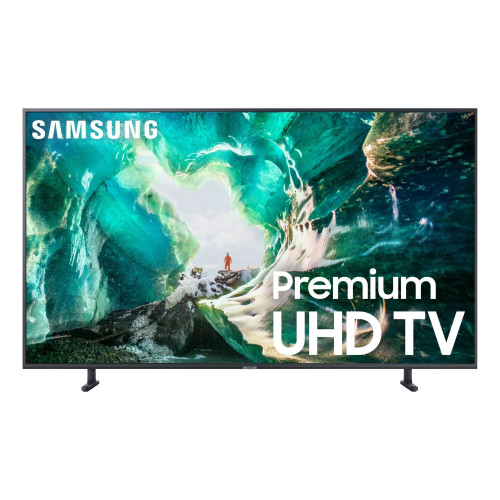 "Samsung 55"" Class RU8000 Premium Smart 4K UHD TV 2019 (Renewed) - NO Tax"