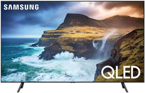"Samsung Flat 82"" QLED 4K Q70 Series Ultra HD Smart TV with HDR and Alexa (Renewed) - NO Tax"