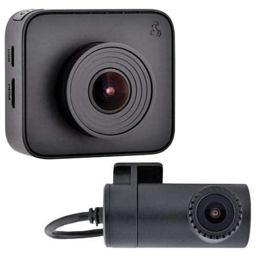 Cobra Drive HD™ DASH 2216D Dual-View Dash Cam System w/Driver Alert System - No Tax