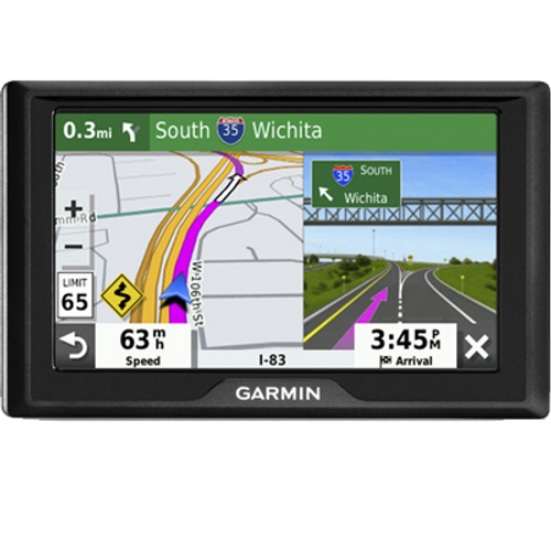"Garmin Drive 52 Automotive GPS w/ 5"" LCD Display (Renewed) - NO Tax"