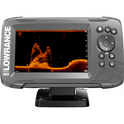 Lowrance HOOK2-5x Fishfinder/GPS with SplitShot Transducer (Renewed) - NO Tax