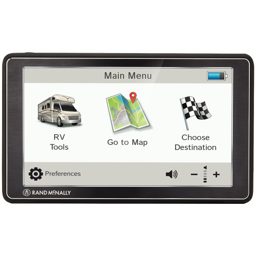 Rand McNally 0528018493 RVND 7 GPS Device with Free Lifetime Maps - No Tax