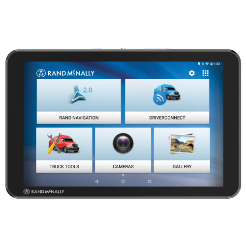 Rand McNally 052802230X 8-inch TND Tablet 85 with Built-in Dash Cam - Truck GPS & Android Tablet Combo - No Tax