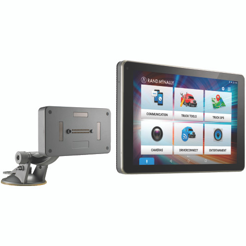 Rand McNally OverDryve 8 Pro Truck GPS Tablet w/Dash Cam, BT, SiriusXM & Free LT Maps & Traffic Updates- No Tax