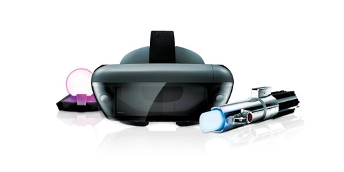 Lenovo Star Wars: Jedi Challenges AR Headset w/ Lightsaber Controller & Tracking Beacon - No Tax
