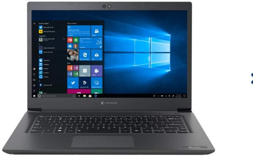 "Toshiba Tecra A40-G1400ED  14"" Notebook Intel Dual-Core 5205U 1.9GHz 128GB SSD 4GB - No Tax"