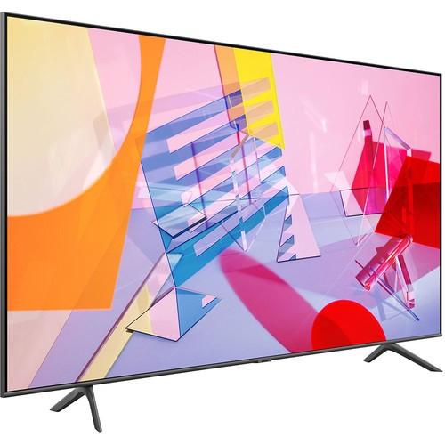 """New Samsung QN55Q60TA 55"""" QLED 4K UHD HDR Smart TV - No Tax"""