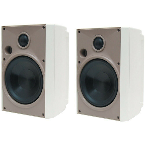 """Proficient AW525 5.25"""" 2-way Wall Mountable, Flr Standing Speaker125W RMS - Pair"""