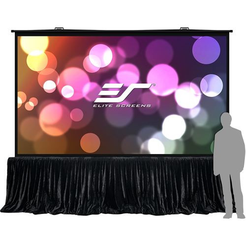 "Elite Screens QS180HD QuickStand 5-Sec Series180"" Projection SCR 4K UHD 3D Ready"