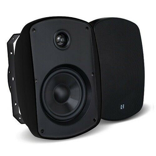 "Russound Acclaim 5B65MK2-B 6.5"" OutBack 2-way Outdoor Speaker 150 W - Pair Black"