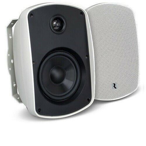 "Russound Acclaim 5B65MK2-W 6.5"" OutBack 2-way Outdoor Speaker 150 W - Pair WHITE"