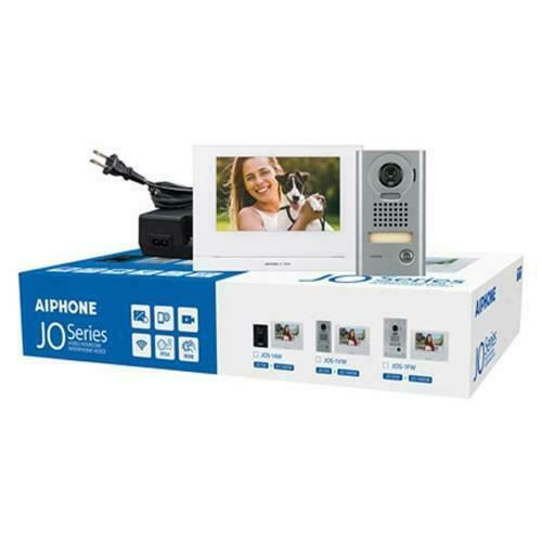 Aiphone Jo Series JOS-1VW Mobile-Ready Box Set with Surface-Mount Door Station