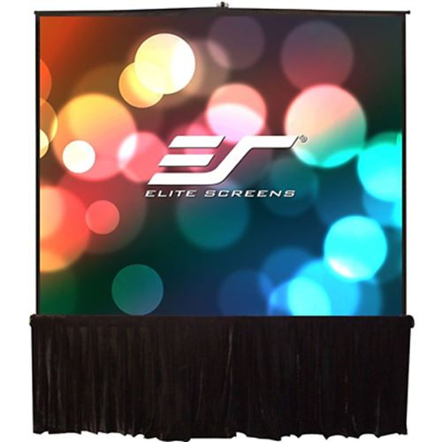 """Elite Tripod Stage Series T170UWS1-D 170"""" Projection Screen - 4K UHD/3D Ready"""
