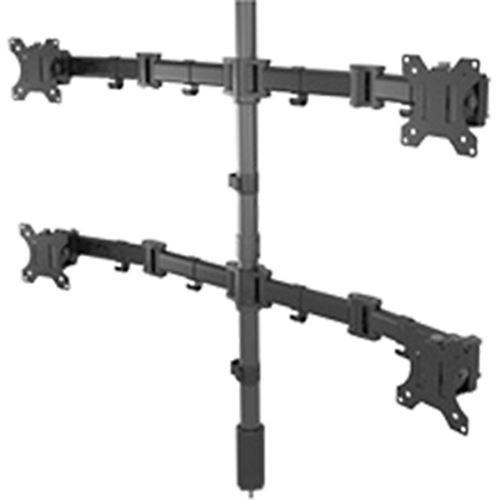 Middle Atlantic Desk Mount For LCD Monitor MM3-2X2BLK - For Up to 4 Monitors