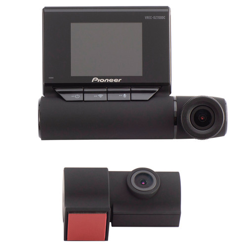 Pioneer VREC-DZ700DC 2-Channel Dual-Recording Full HD Dash Cam, GPS, and Wi-Fi - NO Tax