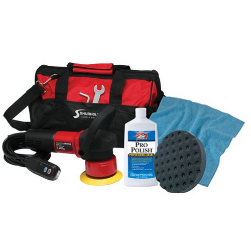 Shurhold Dual Action Polisher Start Kit w/Pro Polish, Pad & MicroFiber Towel