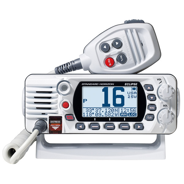 Standard Horizon GX1400 Fixed Mount VHF Boat Radio- White - GX1400W