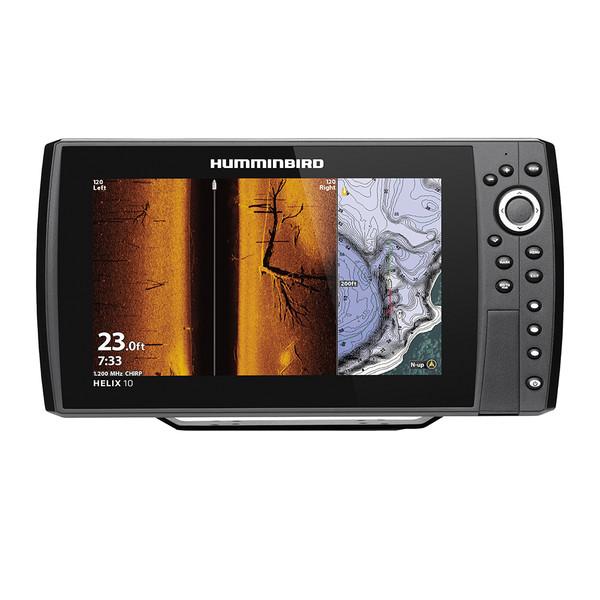 Humminbird Helix 10 Chirp Mega SI Fishfinder/GPS Combo G3N w/TM Transducer 410890-1