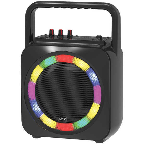 QFX BT-2002 6.5-Inch Portable Party Speaker
