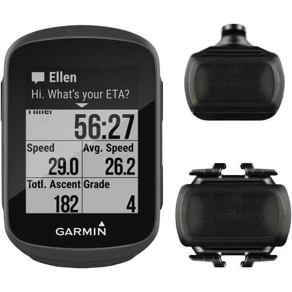 Garmin 010-01913-05 Edge 130 GPS Receiver for Cyclists with Sensor Bundle