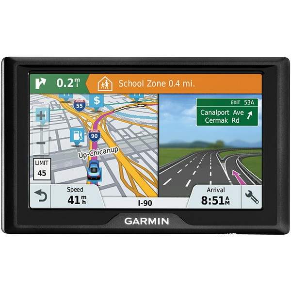 "Garmin 010-01678-0C Drive 51 LMT-S 5"" GPS Navigator with Driver Alerts & Live Traffic (Lifetime US Maps)"
