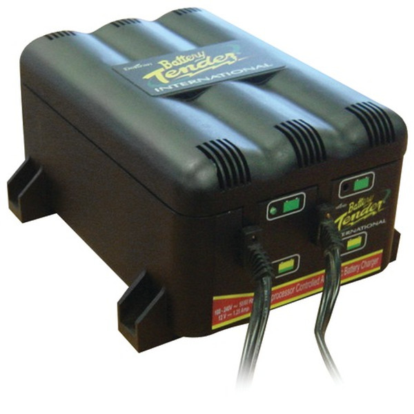 Battery Tender 022-0165-DL-WH 2-Bank Charger Charging Station