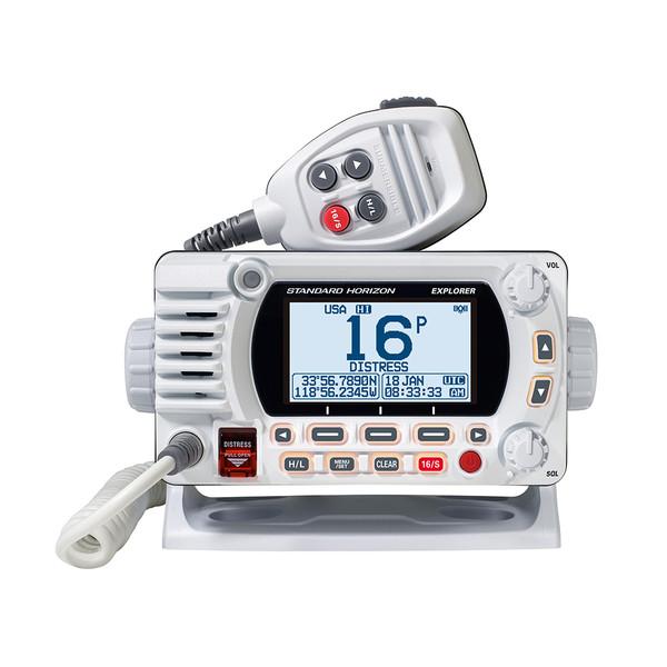 Standard Horizon GX1850 Fixed Mount VHF - NMEA 2000 - White (Part# GX1850W)