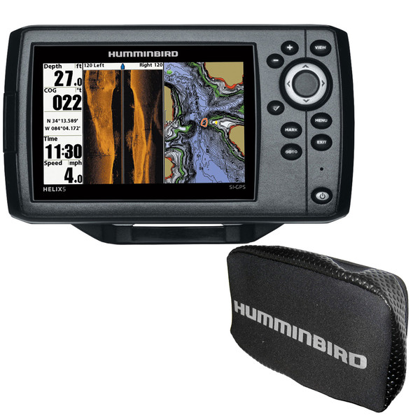 Humminbird HELIX® CHIRP SI GPS G2 Combo w/Free Cover (410230-1\COVER)