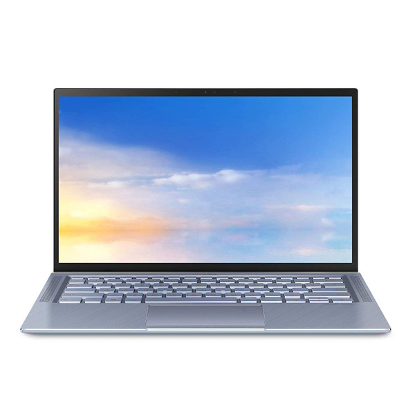 "Asus Zenbook UX431FA-BS51 14"" Laptop i5-8265U 1.6GHz 256GB SSD 8GB - Silver Blue"