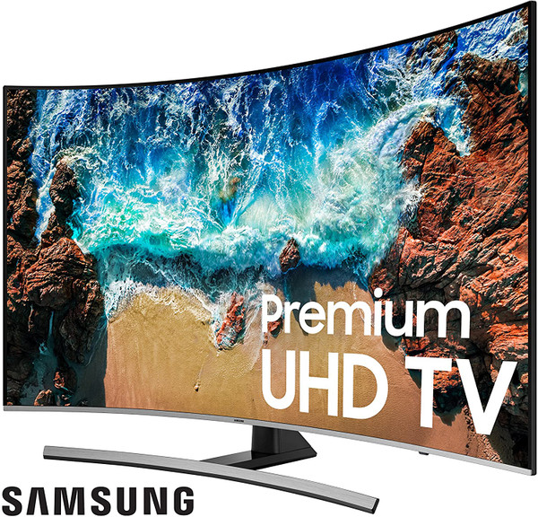 "Samsung 55"" LED CURVED ULTRA HD SMART LED TV 2160P UHD WITH HDR"