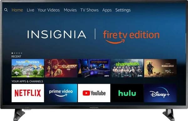 "Insignia 49.5"" (50"" Class) 4K UHD LED Smart TV"