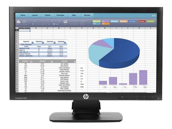 "HP ProDisplay P202 20"" (1600x900) LED Backlit Monitor"