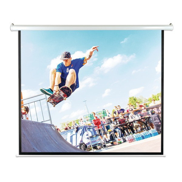 "Pyle 100"" Motorized Projector Screen - Automatic Projector Display"