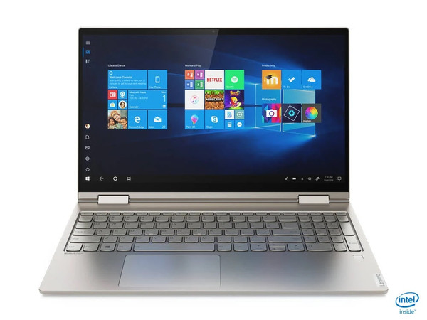 "Lenovo YOGA C740-15IML 15.6"" 2-in-1 Convertible Laptop i7-10510U 1.8GHz 512GB SSD 12GB w/Built-in Amazon Alexa - No Tax"