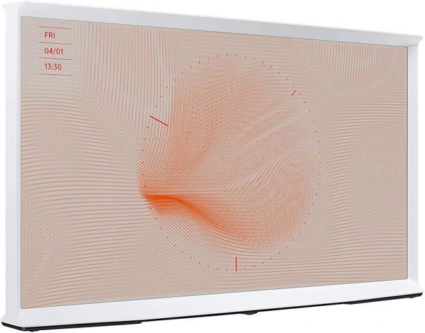 "Samsung The Serif LS Series QN55LS01TAF 55"" QLED Smart TV 4K UltraHD - WHITE - No Tax"