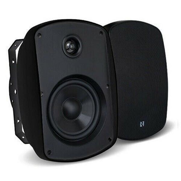 "Russound Acclaim 5B65MK2-B 6.5"" OutBack 2-way Outdoor Speaker 150 W - Pair Black"