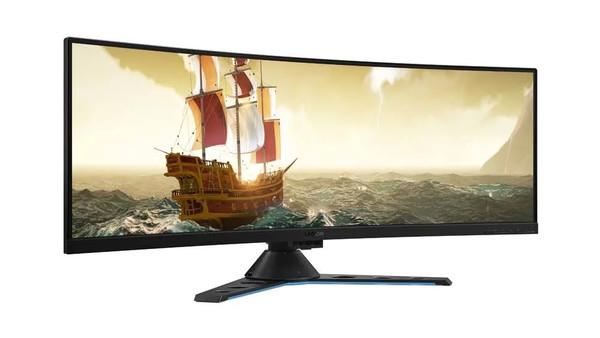 "Lenovo Legion Y44W-10 43.4"" CURVED 4K (3840x2160) 144Hz 450 nits Gaming Monitor - Raven Black - No Tax"