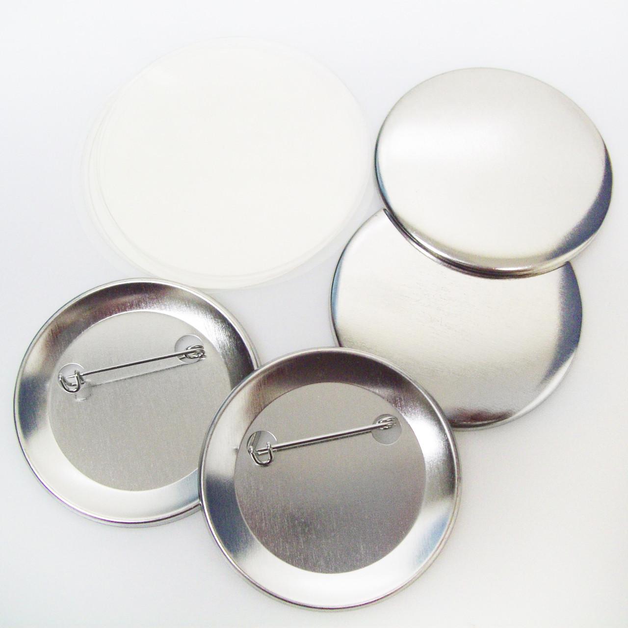 "250 Tecre 3/"" Standard Size Pinback Button Sets"