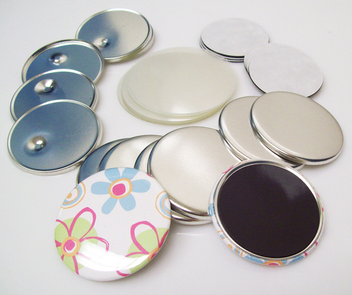 """2.5"""" STD Magnet Button Parts 2-1/2 Inch - 100-FREE SHIPPING"""
