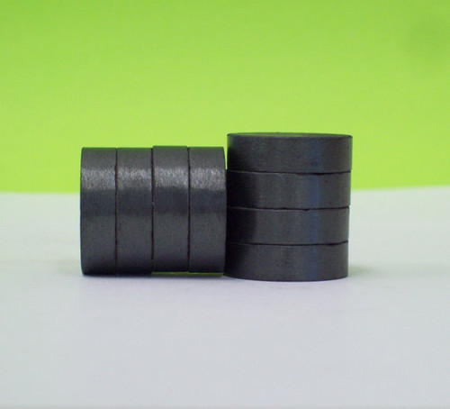 THICK 3/4 inch C8 Strong Ceramic Magnets ONLY for 1 Inch Buttons - 50