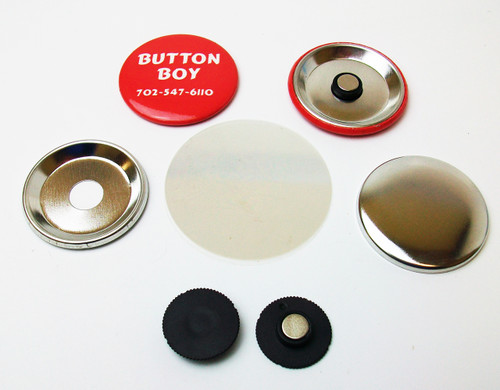 """1.5"""" STD INDENTED MAGNET Parts with NEODYMIUM MAGNETS 1-1/2 Inch  100 PCS"""
