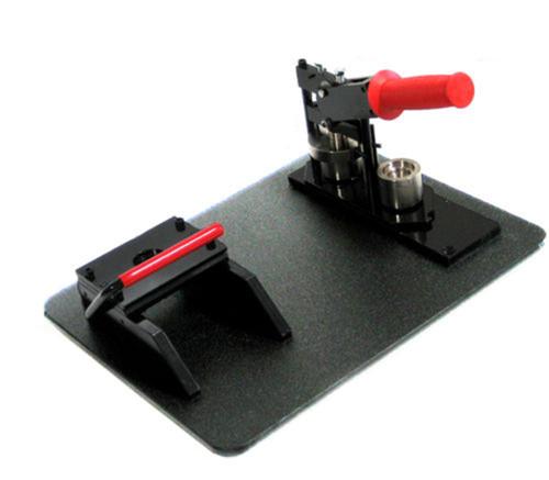 "1"" Button Maker Machine+Graphic Punch+ TABLE +1000 Parts"