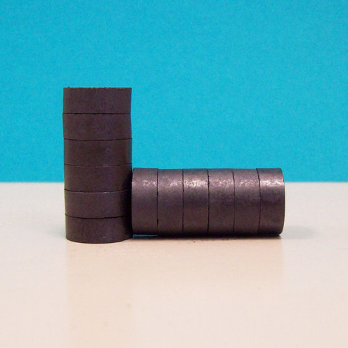 """MINI 1/2"""" Strong Ceramic Magnets ONLY - 500"""