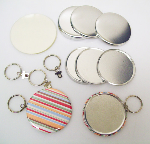 "2.25"" STD Tecre SPLIT Style Key Chain Parts 2-1/4 Inch - Makes 1000 Key Chains-FREE SHIPPING"