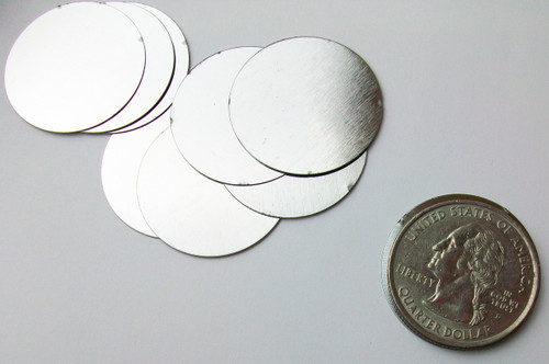 "Steel Metal Discs 1"" 25mm - 1000 discs"