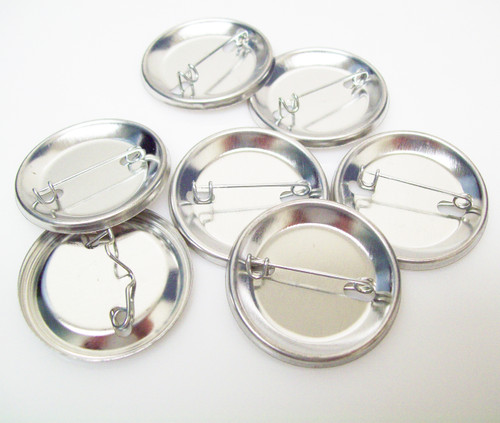 """1.25"""" Tecre PIN  BACKS ONLY - 100"""