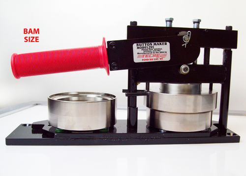 """BAM Size 3""""  Tecre Button Maker Machine Model #295"""