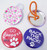 """2.25"""" STD Pony Tail Button Parts 2-1/4 Inch - Makes 250 Pony Tail Buttons-FREE SHIPPING"""